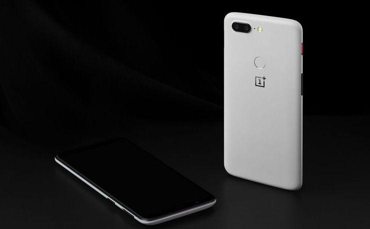 OnePlus 5T Sandstone White
