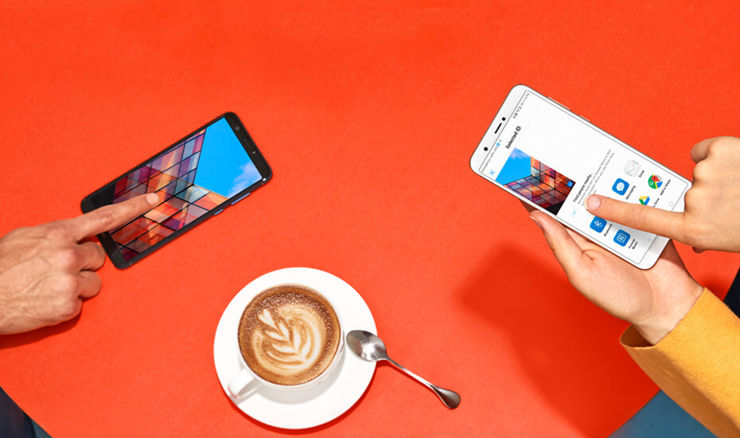 Huawei P Smart at Vodafone