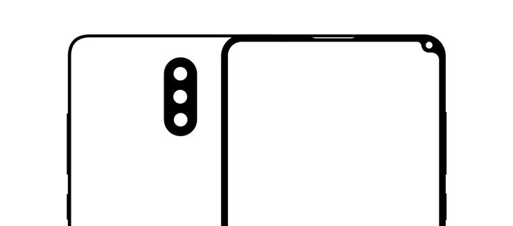 The outline of Xiaomi Mi Mix 2S housing
