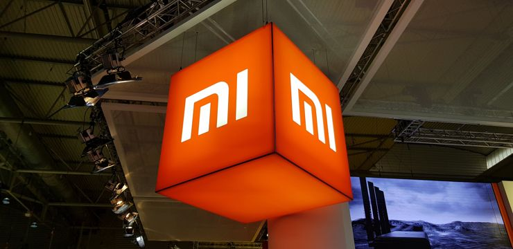 At the Xiaomi stand