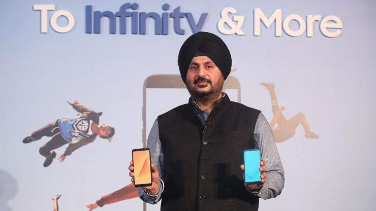 The launch of new Samsung models in India
