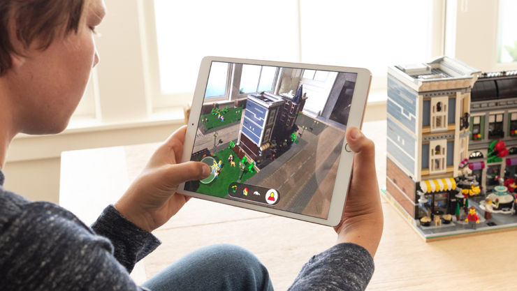 LEGO in the Apple's augmented reality