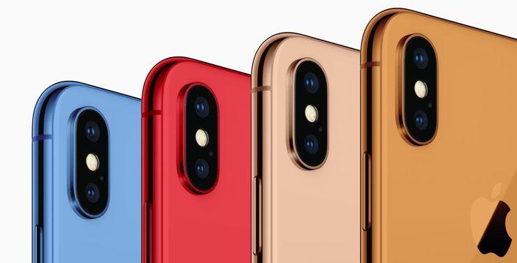 iPhone вновь станет цветным?