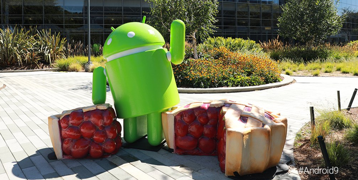 It's here! We are officially introducing you to Android 9 Pie