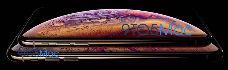 This is supposedly a real render of the iPhone XS