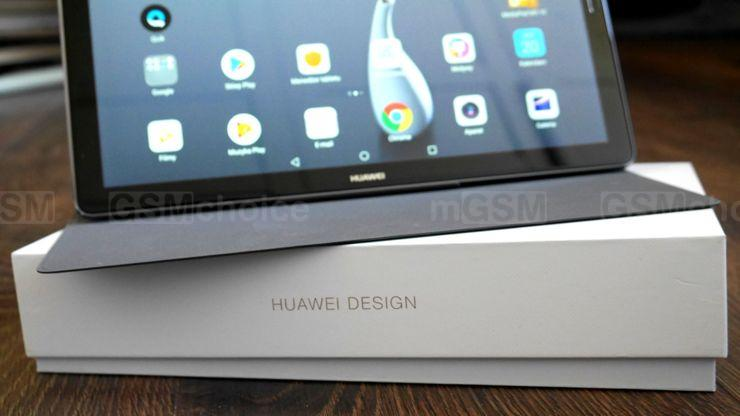 Huawei and MediaPad M5