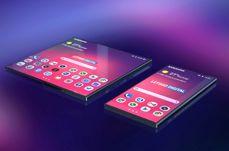 Faltbares Handy von Samsung