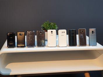 Ein bisschen Geschichte des Galaxy S