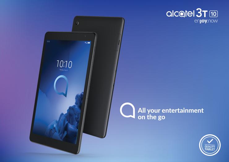 New Alcatel 3T 10 tablet