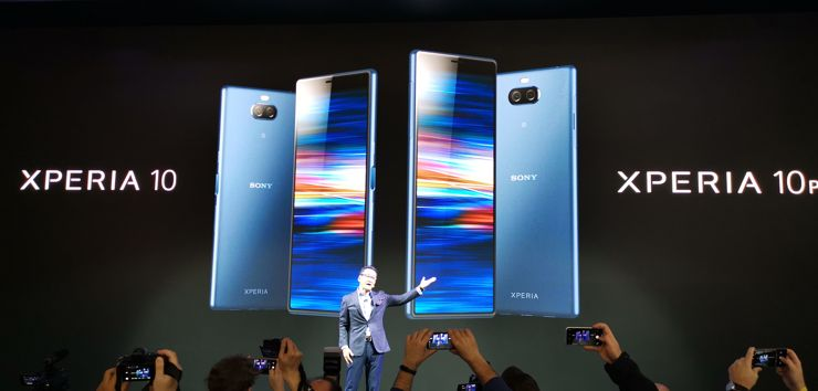 Sony Xperia 10 and 10 Plus