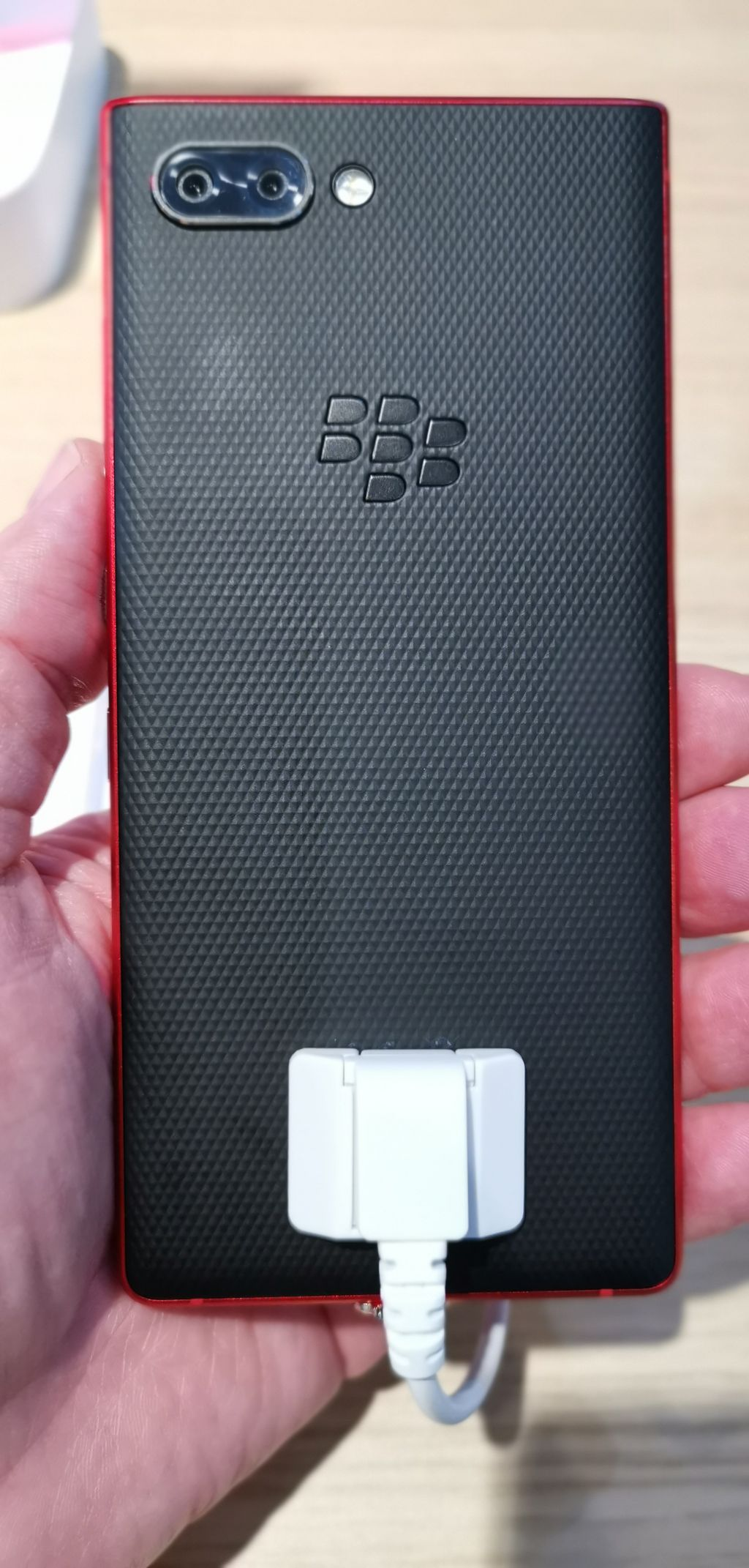 MWC19: BlackBerry Key 2 debuts in red :: GSMchoice com