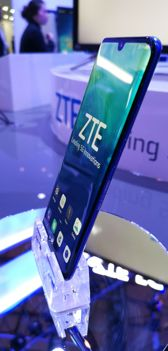 ZTE Axon 10 Pro 5G in the product area