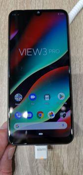 Wiko View 3 Pro am Stand des Herstellers