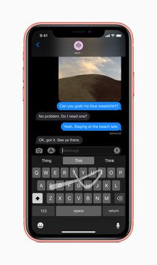 New iOS