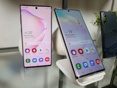 Samsung Galaxy Note10 and Samsung Galaxy Note10+