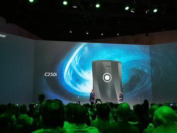 A portable projector Acer C250i