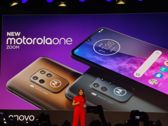 Motorola One Zoom at the conference...