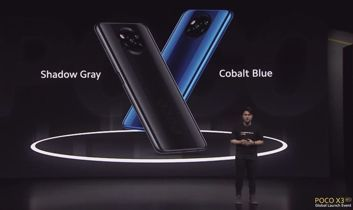 Colours of POCO X3 NFC