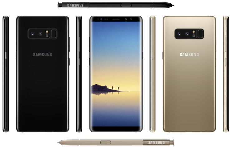 Galaxy Note 8 in full glory