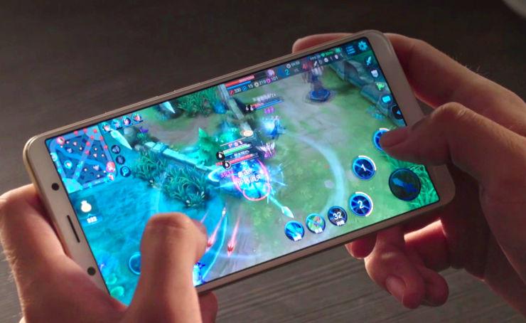 Vivo X20 - smartphone for a player