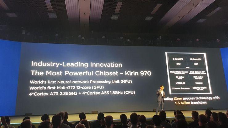 Kirin 970 - der erste Prozessor mit einer NPU-Technologie