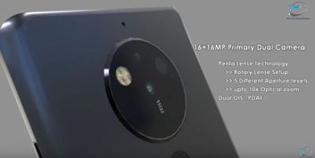A set of lenses from Nokia 10