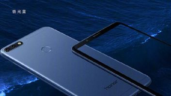 Colour versions of Honor 7C
