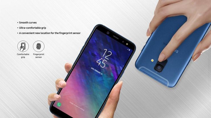 Samsung Galaxy A6 und Galaxy A6+