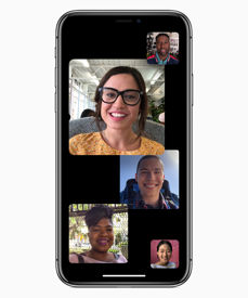 New FaceTime, shortcuts in Siri and