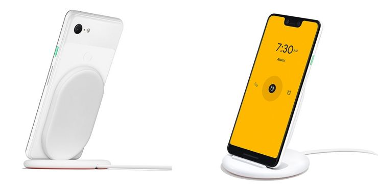 Pixel 3XL and charging Pixel Stand