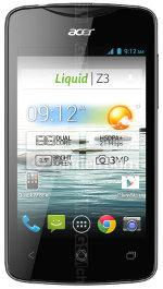 The photo gallery of Acer Liquid Z3