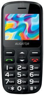 Gallery Telefon Aligator A690 Senior
