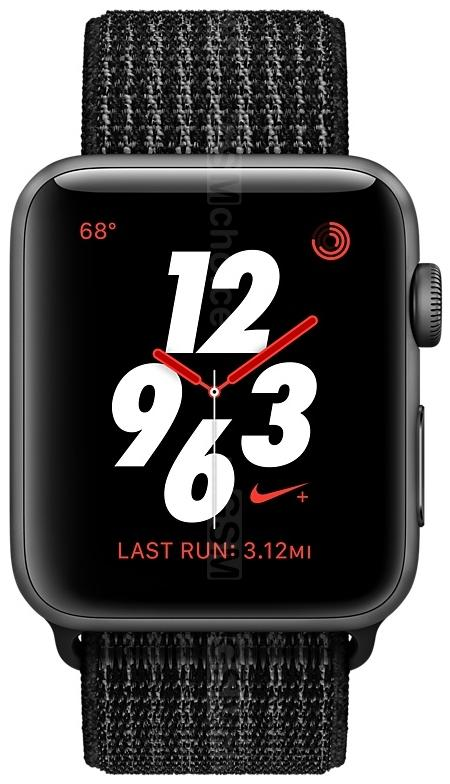 Apple Watch Series 3 Nike+ 38 mm