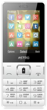 Galeria de fotos do telemóvel Astro B254