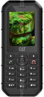 Galeria de fotos do telemóvel CAT B26