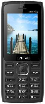 Galerie photo du mobile GFive 3 Sim King