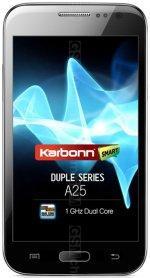 Télécharger firmware Karbonn Mobiles A25. Comment mise a jour android 8, 7.1