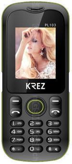 Galeria de fotos do telemóvel Krez PL103