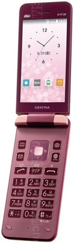 The photo gallery of Kyocera Gratina KYF39