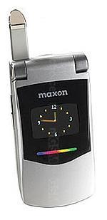 Galeria de fotos do telemóvel Maxon MX 7990