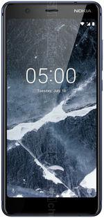The photo gallery of Nokia 5.1