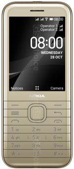 The photo gallery of Nokia 8000 4G Dual SIM