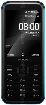 The photo gallery of Nokia 8000 4G
