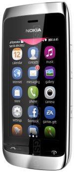 Galeria de fotos do telemóvel Nokia Asha 309