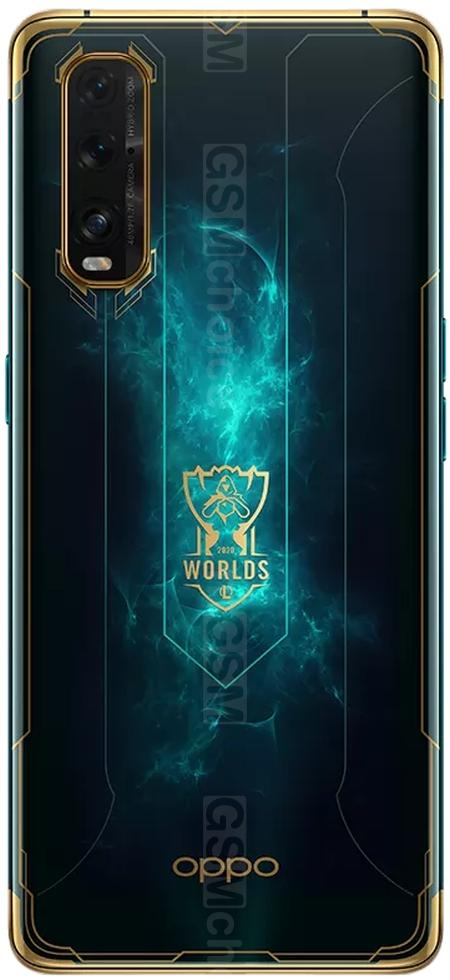 Oppo Find X2 League of Legends S10