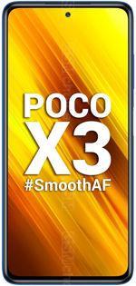 The photo gallery of POCO X3