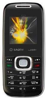 The photo gallery of Sagem my220V