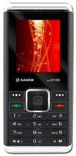 The photo gallery of Sagem my310X