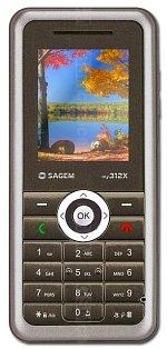 The photo gallery of Sagem my312X