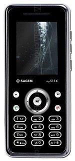 The photo gallery of Sagem my511X